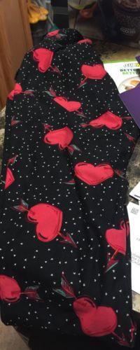 #ValentinesDay OS LulaRoe Valentine Leggings Brand New #ValentinesDay