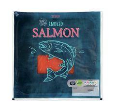 packaging, salmon