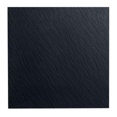 ROPPE Slate Design Black 19.69 in. x 19.69 in. Dry Back Tile-9911P100 - The Home Depot