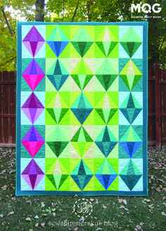 MQG Quilt of the Month, November 2015: Jeweled by Jessica Godfrey