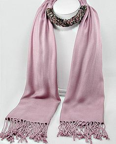 jeweled scarf