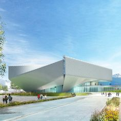 New York architecture studioDiller Scofidio + Renfrohas released new images of its spiralling US Olympic Museum in Colorado Springs, as construction on the project officially starts. First unveiled in 2015, the5,600-square-metre facility will be the only museum in the US dedicated to the legacy of the country'sOlympic and Paralympic athletes. It will feature 1,900 square