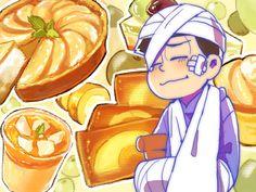 おそ松さん Osomatsu-san カラ松「梨のスイーツ食べさせたい」/「ぱひょん」のイラスト [pixiv]