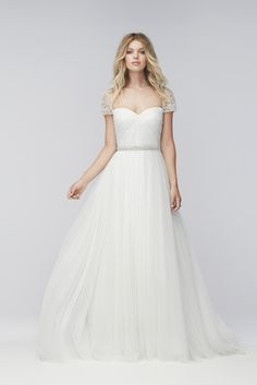 Watters 16608 Size 8 $1,525 - Debra's Bridal Shop at The Avenues 9365 Philips Highway Jacksonville, FL 32256 (904) 519-9900