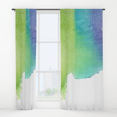 """Your drapes don't have to be so drab. Our awesome Window Curtains transform a neglected essential into an awesome statement piece. Featuring a single-sided print with a reverse white side.     - Dimensions: 50"""" (W) x 84"""" (H)   - Available in single or double panel options   - Crafted with 100% lightweight polyester, blocks out some light   - 4"""" hanging pocket for easy hanging on any rod   - Single side print on front with reverse white side   - Machine wash cold, tumble dry low Window Curtains, Wall Prints, Windows, Graphics, Cold, Pocket, Awesome, Easy, Graphic Design"""