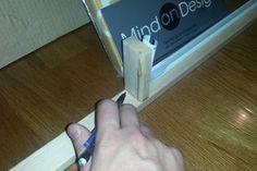 Picture of The Second Set of Cuts Window Cornice Diy, Window Cornices, Window Coverings, Window Treatments, Valances, Box Valance, Cornice Box, Valance Ideas, Window Seats
