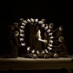 #clock #hands #performance A great representation of a clock