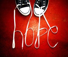 Hope (with Chuck laces)