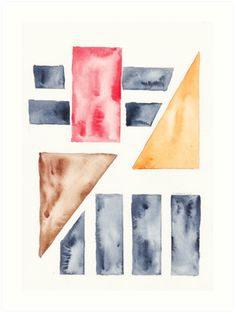 13  | Abstract Geometric | 191015 Watercolour Painting.  Pinterest @ valourineart ig @ valourine / |watercolour painting / |watercolour tattoo / |watercolor flowers / |backgrounds patterns watercolor / |zentangle watercolor / |watercolor caligraphy / |lettering watercolor / |watercolor splash / |wa… • Millions of unique designs by independent artists. Find your thing. Tattoo Background, Watercolor Flower Background, Watercolor Trees, Watercolor Artists, Watercolor Pattern, Abstract Watercolor, Watercolour Painting, Tattoo Watercolor, Geometric Shapes Design