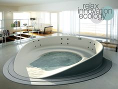 Shore Bathtub by HeyTeam Collective with Teuco » Yanko Design. Ooh!