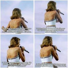 The random speak before singing is the best speak from taylor. When You Know, Knowing You, Hug Me, You Deserve, Taylor Swift, Wish, Hold On, People, Random Stuff