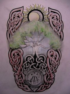 Tree of life tattoo design by ~knotty-inks on deviantART
