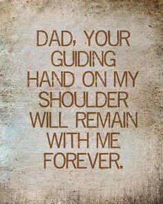 Miss you, Dad!