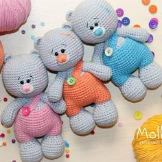 How To Crochet an Amigurumi Rabbit - Crochet Ideas Crochet Doll Pattern, Crochet Toys Patterns, Amigurumi Patterns, Stuffed Toys Patterns, Amigurumi Doll, Crochet Dolls, Crochet Teddy, Crochet Bear, Crochet Animals