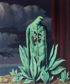 The Flavour of Tears / Rene Magritte / 1948 / oil on canvas / Barber Institute of Fine Arts