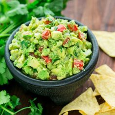Gourmet Guacamole    Recipe Type: Lunches & Sides  Author: Chef Shamy  Prep time: 5 mins  Total time: 5 mins    Ingredients     	2 or 3 Ripe Avocados (semi-soft to finger pressure)   	1 Tomato (seeded and diced)   	1/4 cup diced onion   	1 TBL diced