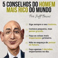 """Eu sou Milionário on Instagram: """"Vale a pena conferir 👆 . . SIGA @eu_sou_milionario . . . . . ________________________________ #investidores #planejamentofinanceiro…"""" Self Development, Personal Development, Motivational Phrases, Inspirational Quotes, Job Quotes, Win Money, Self Improvement Tips, Self Esteem, Mindset"""