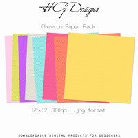 FREE digital and printable Chevron Paper Pack by ~cesstrelle on deviantART