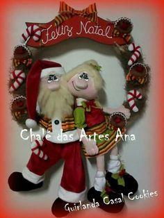 Cookies, Ronald Mcdonald, Diy And Crafts, Christmas Ornaments, Holiday Decor, Fictional Characters, Jin, Corner, Papa Noel