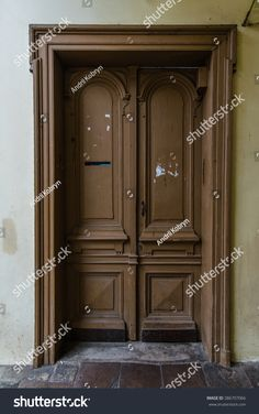 Old door in Paris  lviv