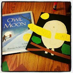 Owl Moon storybook art project