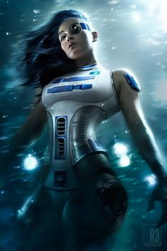 R2-D2 gets a major sexified upgrade!!
