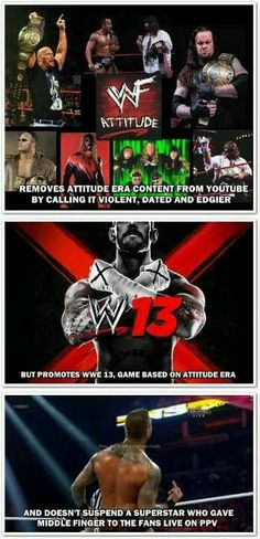 WWE logic for the win!