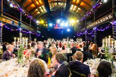 The Old Fruitmarket in Glasgow, with a wedding in full swing