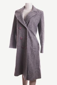 1940's Pea Coat Womens XL Wool Pea Coat Gray Wool Pea Coat Double Breasted wool peacoat Womens pea coat womens wool trench coat grey wool by flawlessfinds on Etsy https://www.etsy.com/listing/211214276/1940s-pea-coat-womens-xl-wool-pea-coat