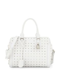 Alexander McQueen ~ Small Studded Padlock Tote Bag