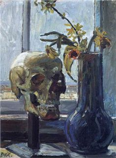 Otto Dix - Flowers and Decay [1911] the juxtaposition of life and death.