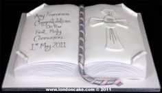 Pin Baptism First Holy Communion Cake On Pinterest