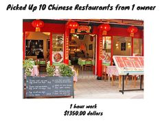 Picked Up 10 Chinese Restaurants 1 Owner