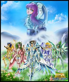 Saint Seiya - Bronze Saints & Athena