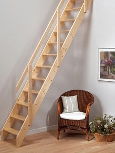 Dolle Rome Space Saver Staircase   Modular Stair Kit   Ideal For Loft  Conversions | Panama | Pinterest | Stair Kits, Space Saver And Staircases