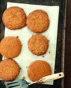 Gingersnaps are the quintessential holiday cookie, and these are super fast and easy.  Not to mention how great they smell baking!