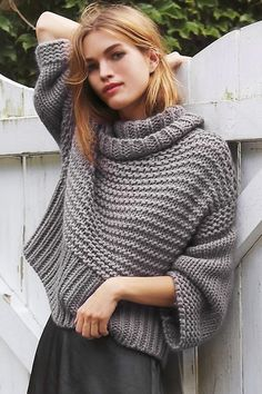44 Ideas For Crochet Scarf Outfit Winter Cardigan Fashion, Knit Fashion, Sweater Outfits, Cute Fall Outfits, Top Pattern, Pattern Ideas, Patterns, Stylish Dresses, Pulls