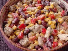 Monia miesza i gotuje: Sałatka meksykańska