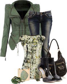"""Saturday Errand Wear"" by flowerchild805 on Polyvore"
