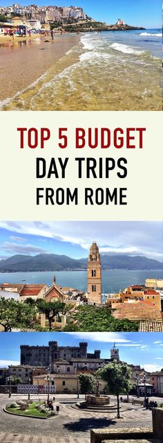 Whatever it is you're looking for during your trip to Italy, or just the Lazio region, you will find it somewhere amongst these top 5 day trip destinations.