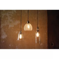 Kalalou Brushed Silver & Glass Pendant Canopy Lamp, One Size, Multicolored Traditional Pendant Lighting, Contemporary Pendant Lights, Home Lighting, Modern Lighting, Lighting Ideas, Kitchen Island Lighting, Tasting Room, Vintage Lighting, Recycled Glass