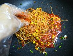 Vegetable Seasoning, Korean Food, Kimchi, Japchae, Cabbage, Pork, Vegetables, Cooking, Ethnic Recipes
