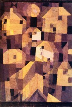 "Paul Klee ""Autumnal Place"", 1921 (Switzerland, Expressionism, 20th cent.)"