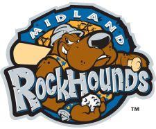 Midland RockHounds, (Midland, Texas), Stadium: Security Bank Ballpark #MidlandRockHounds #TexasLeague #MidlandTexas (L4860)