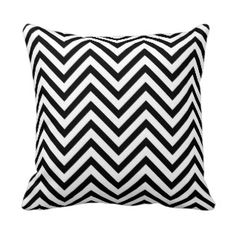 Black and White Chevron Pattern Pillows we are given they also recommend where is the best to buyShoppingHere a great deal. Chevron Throw Pillows, Decorative Throw Pillows, White Room Decor, White Damask, Monogram Design, Colorful Pillows, Cool Patterns, Custom Pillows, Navy And White