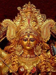 Spiritual Photos: Statue of Maa Durga Indian Goddess, Mother Goddess, Goddess Lakshmi, Maa Durga Photo, Maa Durga Image, Durga Picture, Kali Hindu, Hindu Art, Hindus