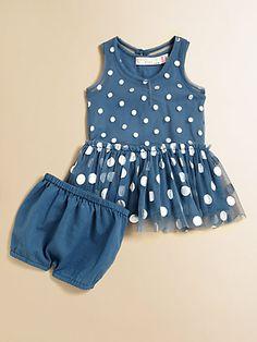Stella McCartney Kids - Infant's Bell Dotted Tulle Dress & Bloomers Set - Saks.com