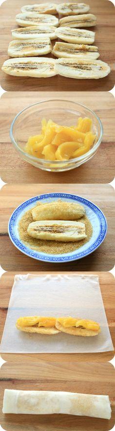 Turon Recipe (Banana Lumpia)  Foxy Folksy