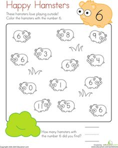 math worksheet : coloring 5 tomato harvest  worksheets kindergarten counting and  : Count And Color Worksheets Kindergarten