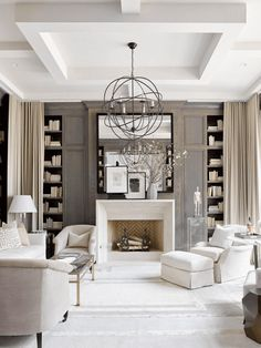 white living room with dark taupe wood paneling, sherwin williams poised taupe